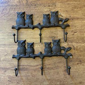 Owl🦉Coat Hooks $9.99 Shipping